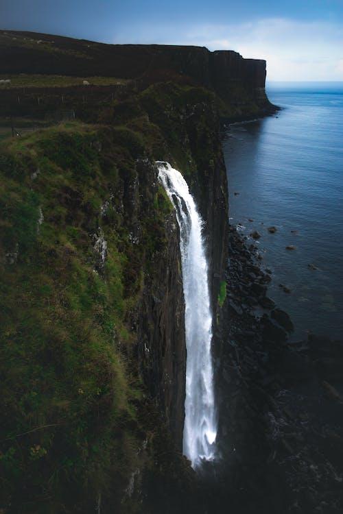 Imagine de stoc gratuită din apă, cascade, cer, curge