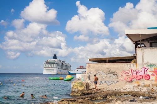 Photos gratuites de amusement, aventure, bateau de croisière, bleu