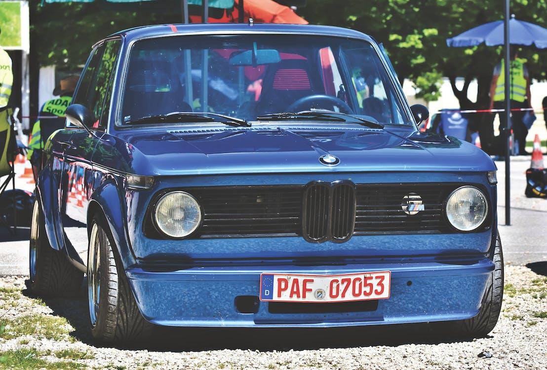 bil, BMW, gammel bil