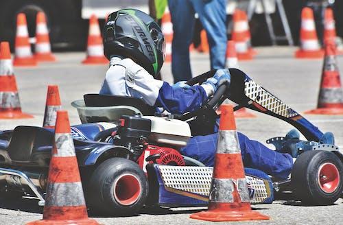 คลังภาพถ่ายฟรี ของ การแข่งรถ, มอเตอร์สปอร์ต, สนามแข่งรถ, โกคาร์ท
