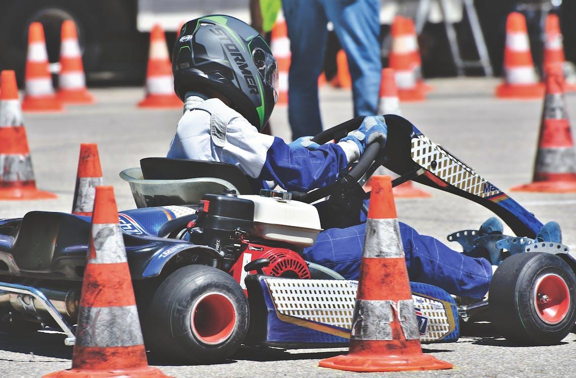 gokart, kjøre race, motorsport