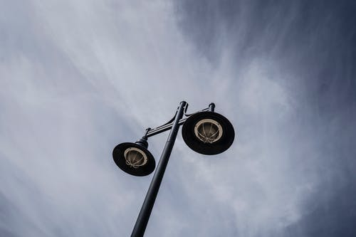 街灯, 街灯柱, 電気の無料の写真素材