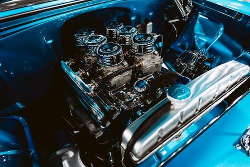 Foto profissional grátis de automobilístico, automóvel, chrome, clássico