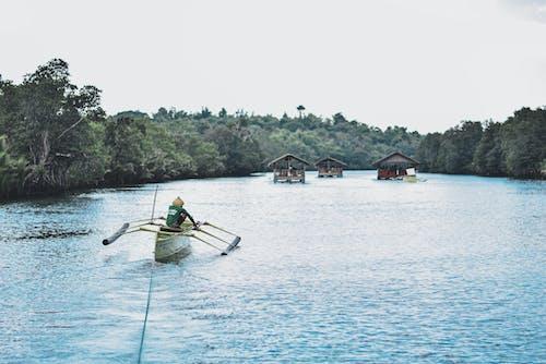 Foto d'estoc gratuïta de aigua, asiàtics, barca
