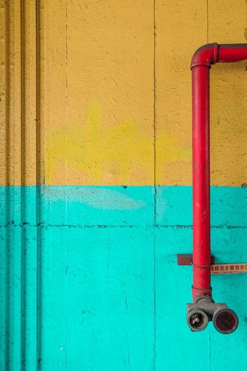 Бесплатное стоковое фото с стена, тайвань, труба, трубопровод