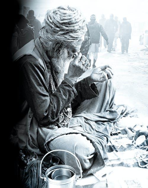 Foto d'estoc gratuïta de camp de ganga sagar