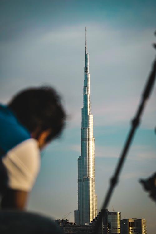 Immagine gratuita di architettura, attrazione turistica, burj khalifa, concentrarsi