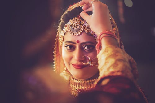 Woman Wearing Nose Piercing