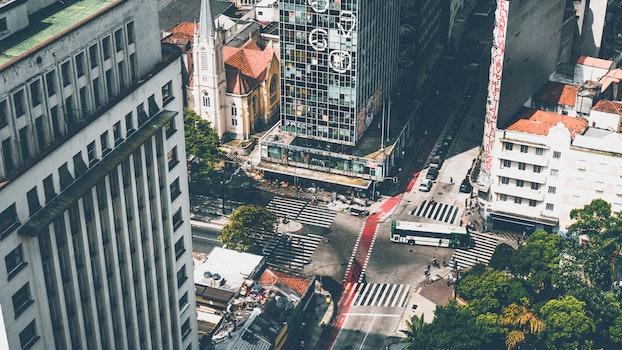 Free stock photo of city, cars, streets, landmark