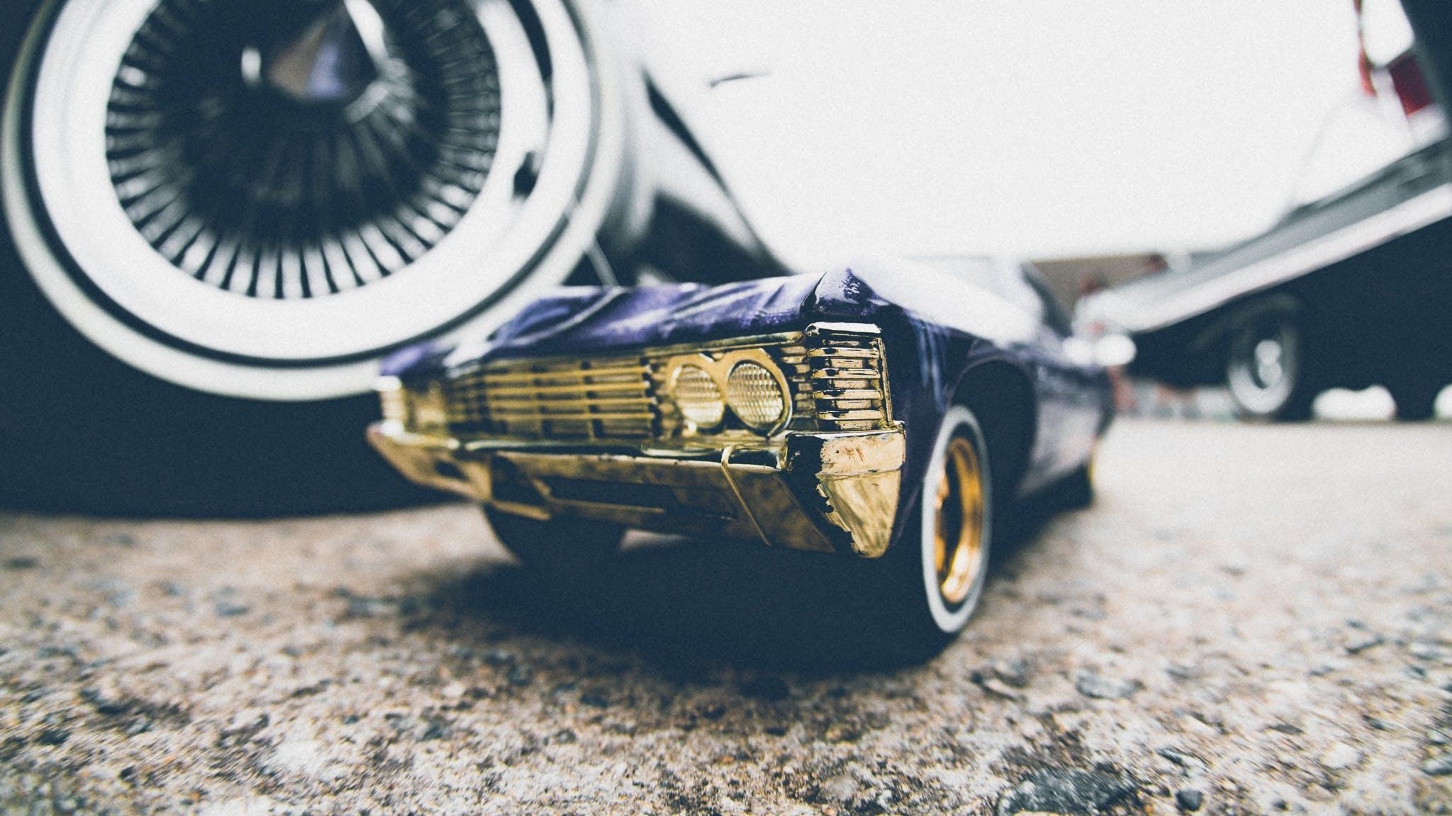 Black Car Die-cast Model