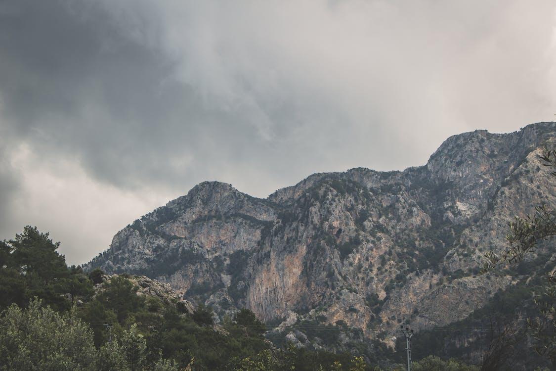 alto, esterno, montagna