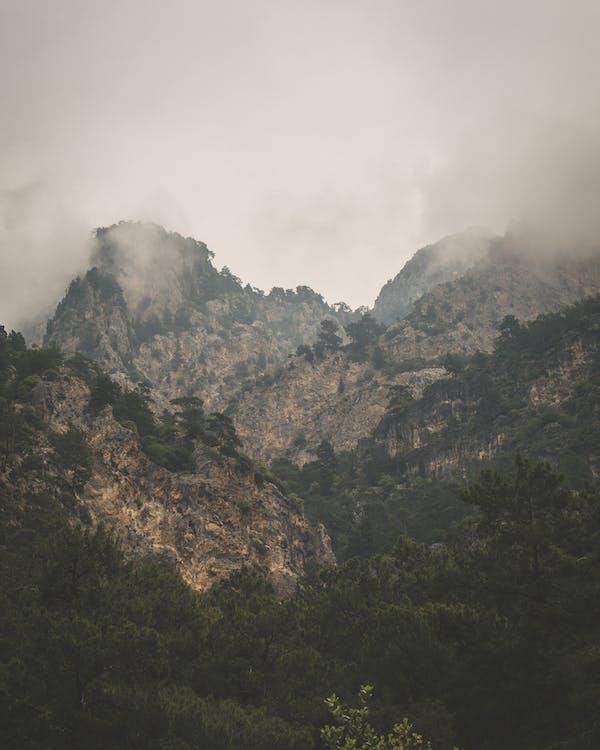 góra, krajobraz, malowniczy