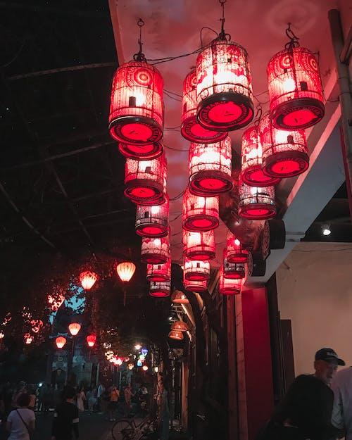Fotos de stock gratuitas de faroles, iluminado, linternas, luces