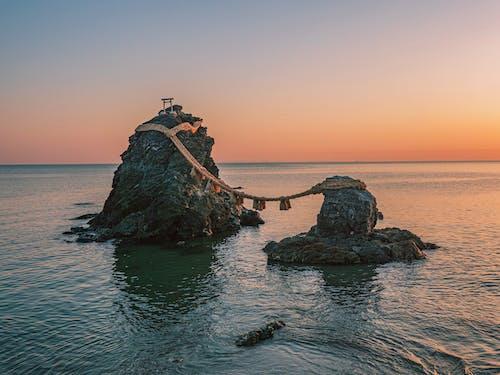 Immagine gratuita di acqua, alba, baia, cielo