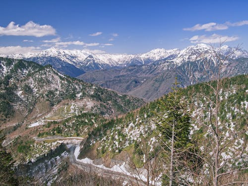 Scenic Photo of Mountain Scenery