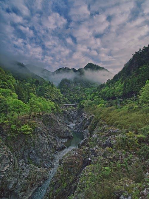 Gratis arkivbilde med 4k-bakgrunnsbilde, canyon, elv, eventyr