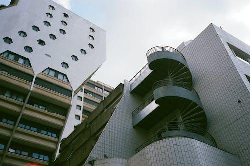 White High Rise Buildings
