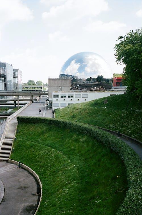 High-angle Photography of Garden Park