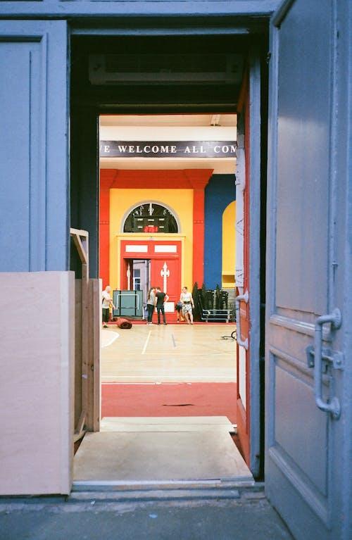 エントランス, ドア, 戸口の無料の写真素材