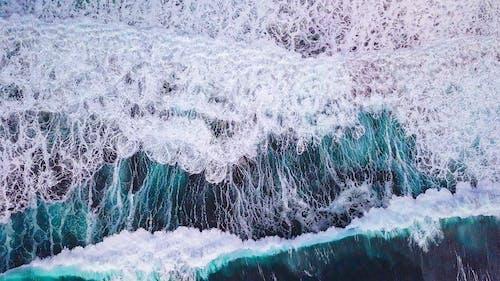 Kostenloses Stock Foto zu abstrakter expressionismus, artsy, drohne blick, drohne erschossen