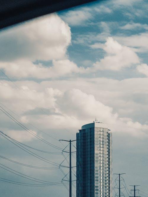 Darmowe zdjęcie z galerii z architektura, biznes, błękitne niebo, budynek