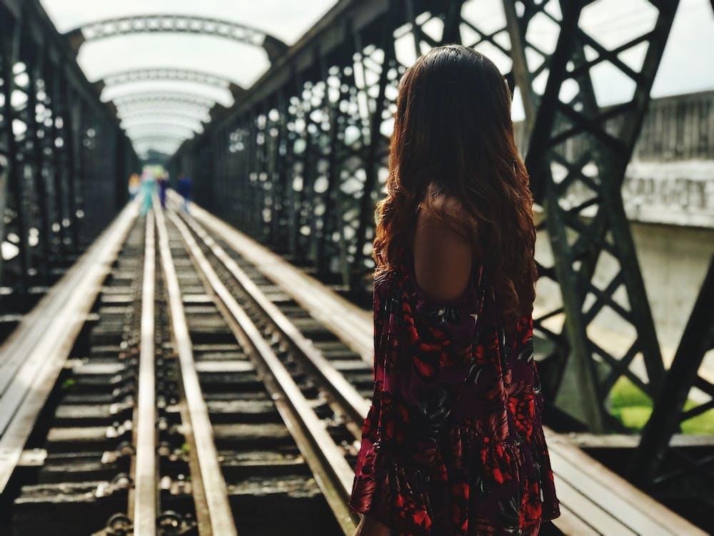 henkilö, ihminen, junanrata