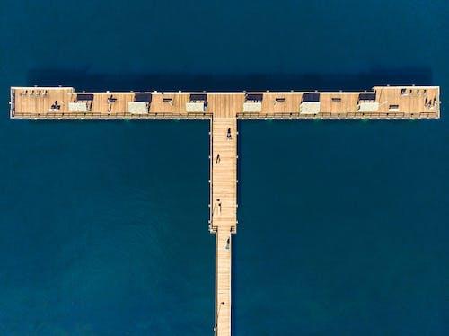 คลังภาพถ่ายฟรี ของ จากข้างบน, ทางสนิม, ทาโคมา, ท่าเรือ
