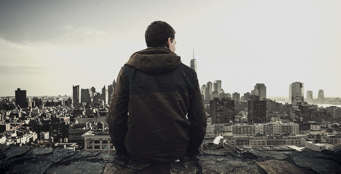 Free stock photo of city, fashion, man, person