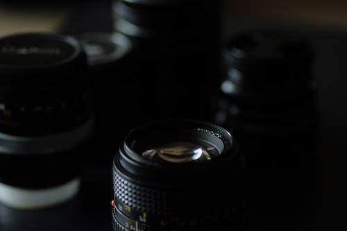 カメラ機器, ガラス, ビンテージレンズ, レンズの無料の写真素材