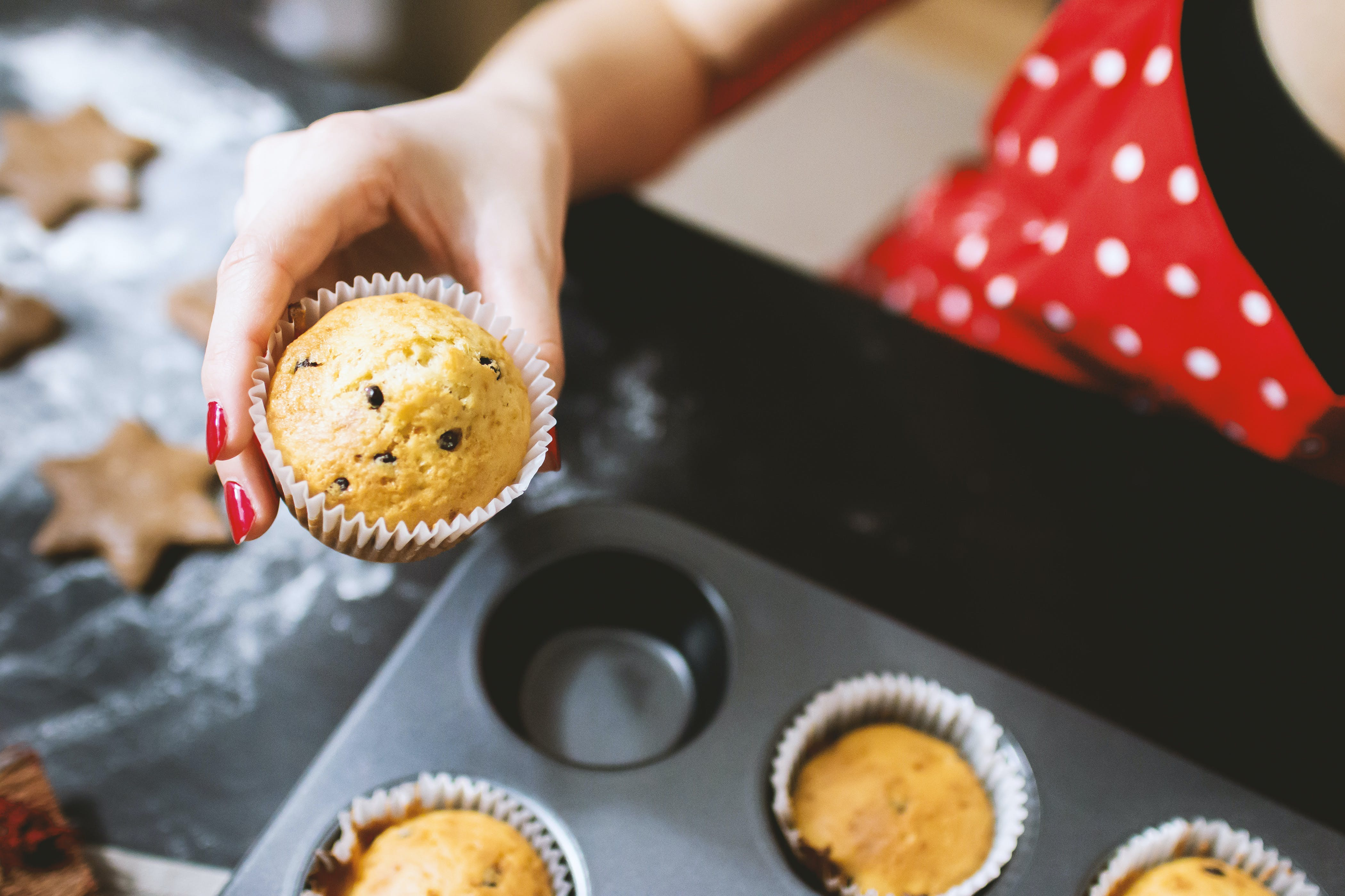 baking, cupcakes, dessert