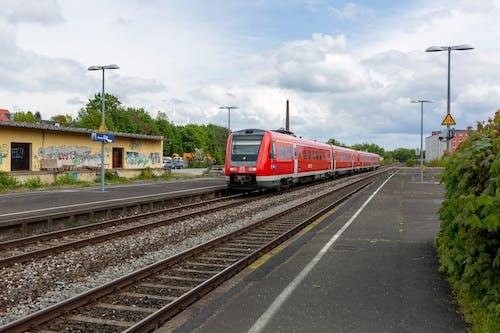 Gratis stockfoto met blauwe lucht, db bahn, Duitsland, hbf