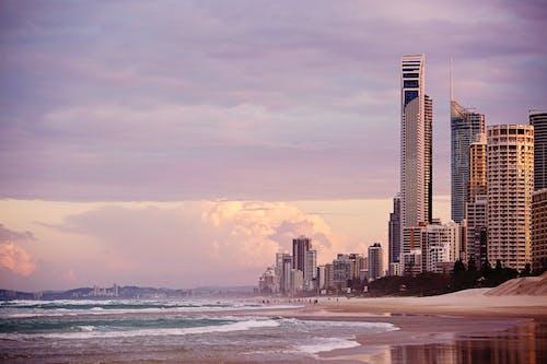 Photo of Beach Near Buildings