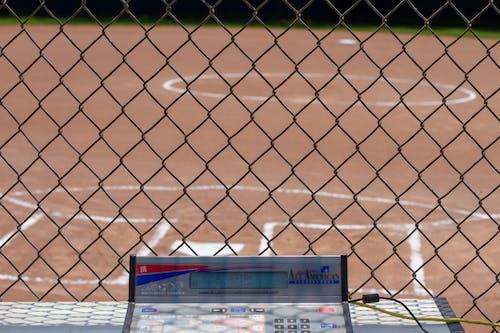 Free stock photo of baseball, baseball backstop, baseball diamond