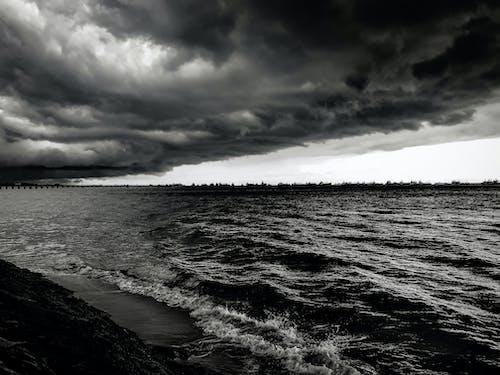 Gratis lagerfoto af dramatisk, hav, havudsigt, natur