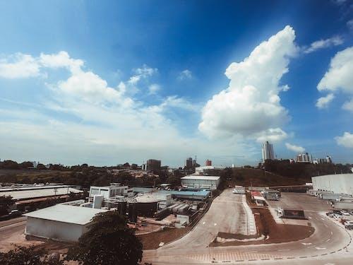 Immagine gratuita di aereo, architettura, business, centro città