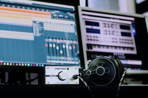 專注, 工作室, 录音工作室, 技術 的 免费素材照片