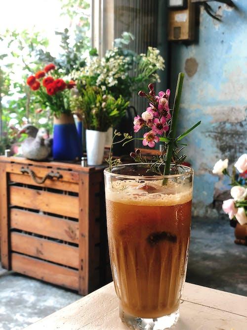 Foto stok gratis bunga-bunga indah, kopi
