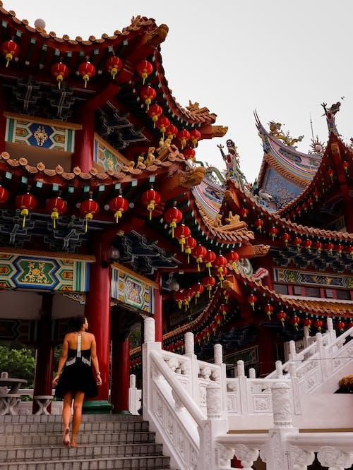 Fotobanka sbezplatnými fotkami na tému chrám, čínsky, čínsky chrám, Kuala Lumpur