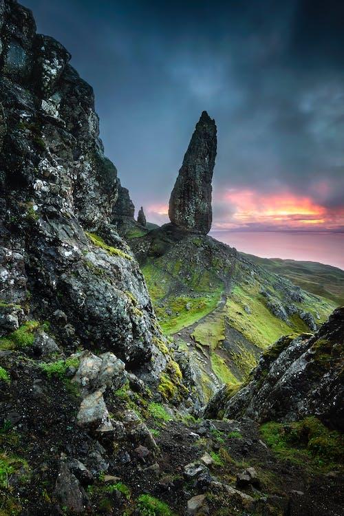 Бесплатное стоковое фото с великобритания, вид, геологическое образование, горный пик