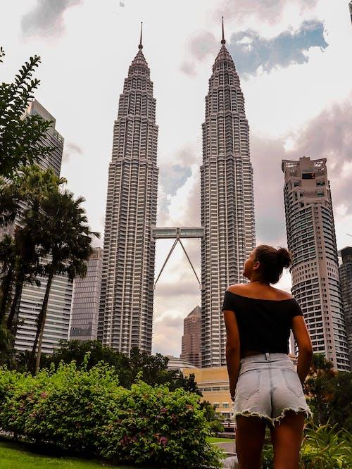 Fotobanka sbezplatnými fotkami na tému Ázia, Kuala Lumpur, Malajzia, Petronas Towers