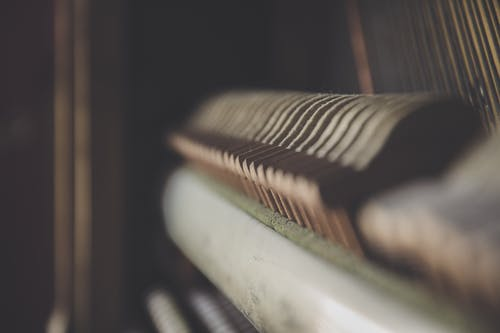 Close Up Photography of Piano Keys