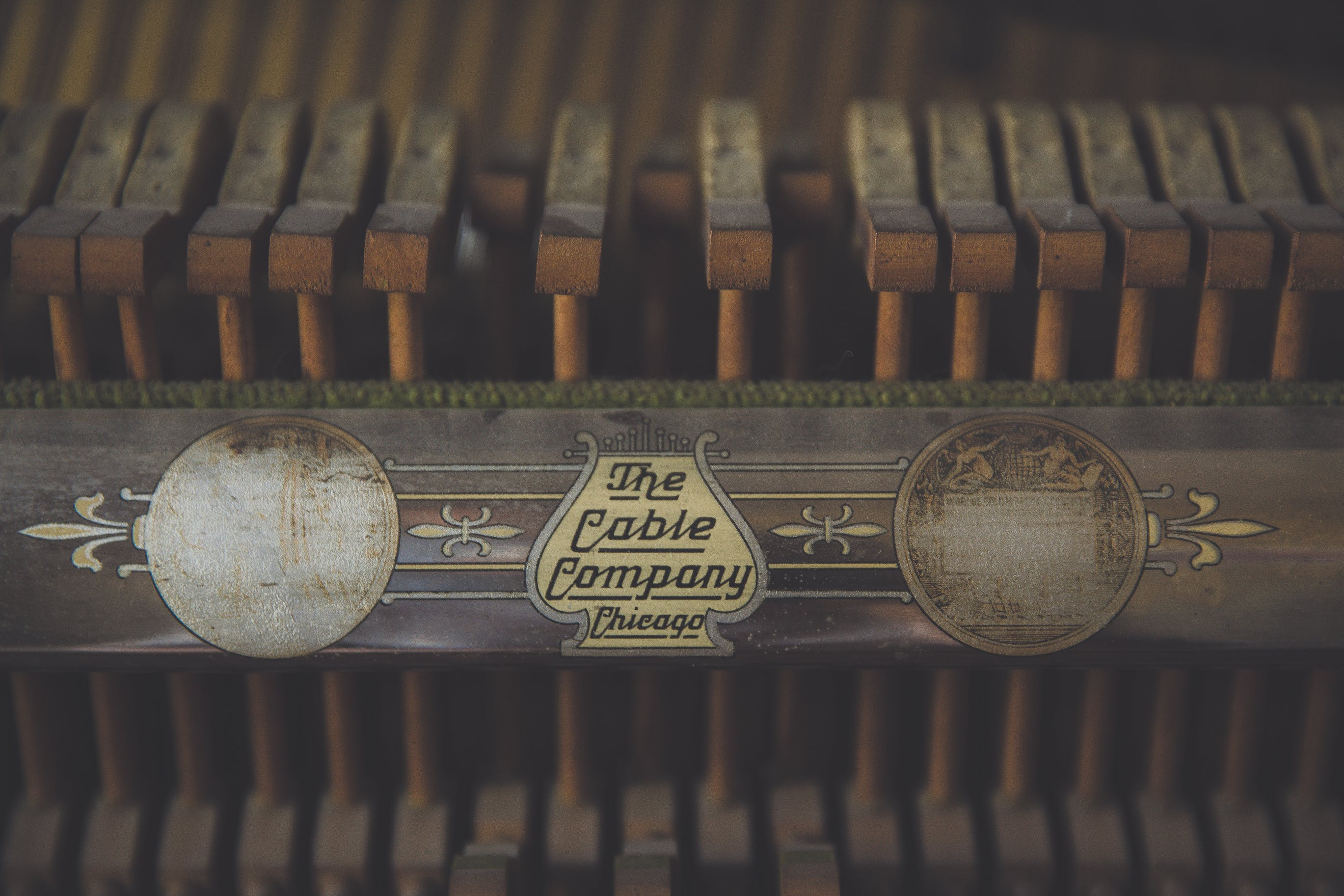 Close Up Photography of the Cable Company Grand Piano