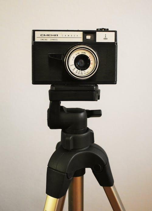 Fotobanka sbezplatnými fotkami na tému elektronika, fotoaparát, klasický, statív
