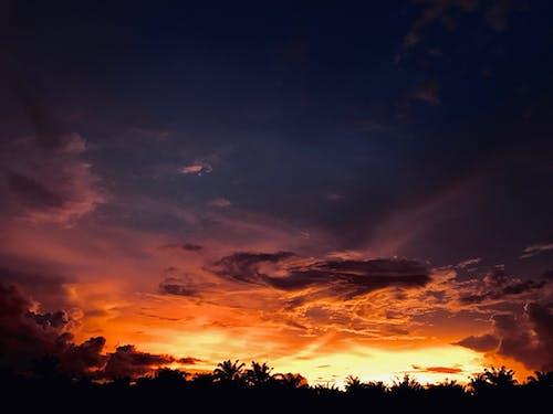 구름, 드라마틱한, 새벽, 일몰의 무료 스톡 사진