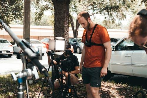 Photos gratuites de appareil photo, bâton, caméra, caméra vidéo