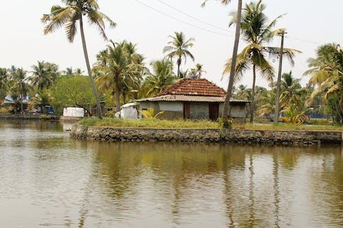Ingyenes stockfotó folyó, folyó oldala, tavi ház, tó témában