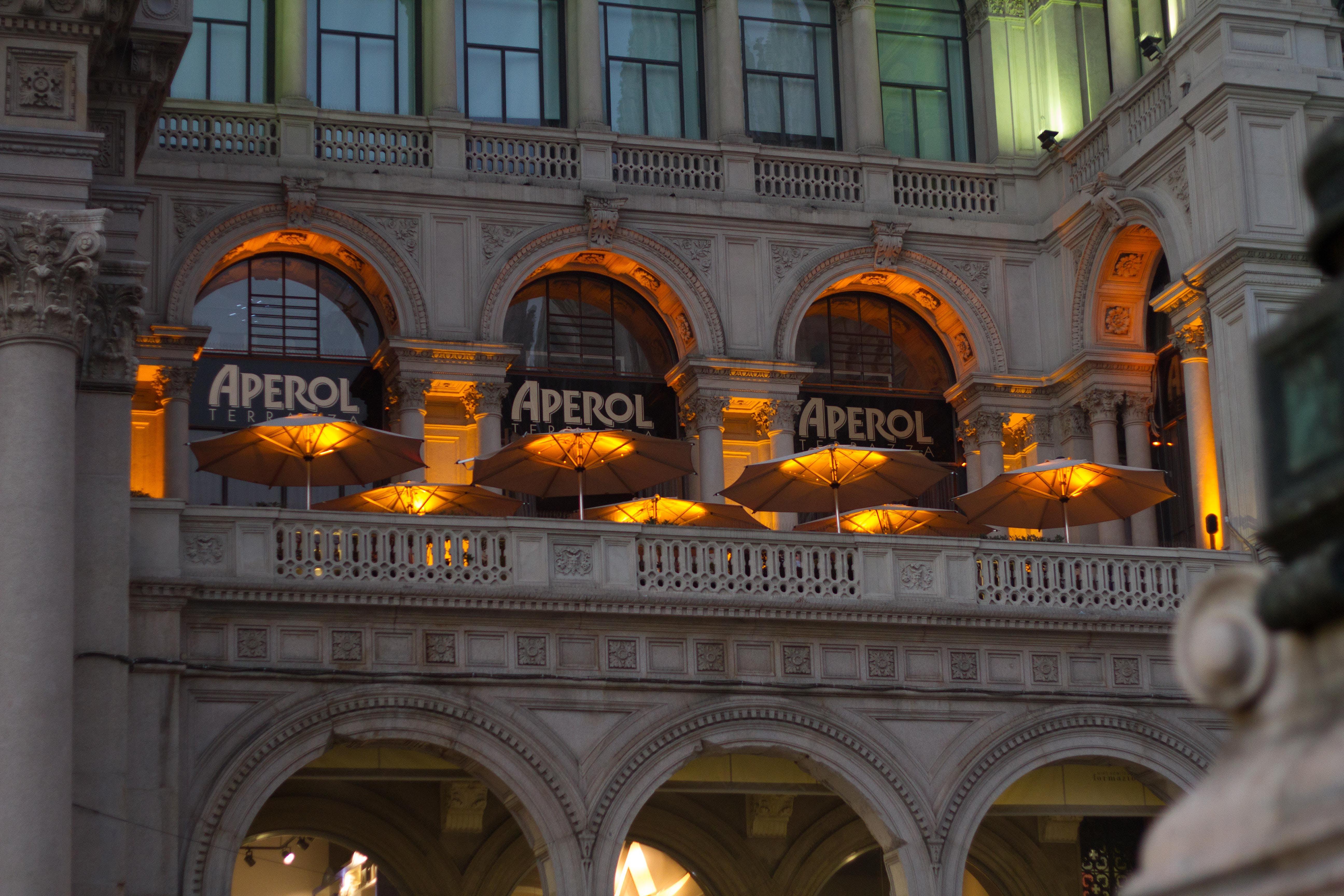 arkitektur, balkong, berømt