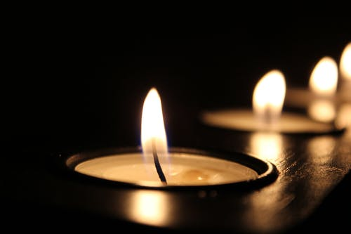 Selective Focus Photography of Tealight Candles
