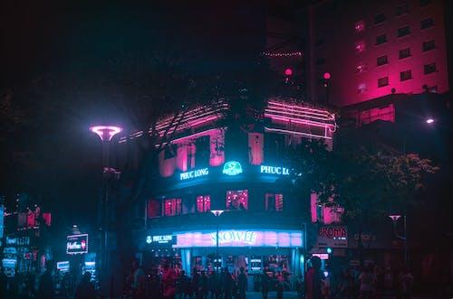 Gratis lagerfoto af gade, lys