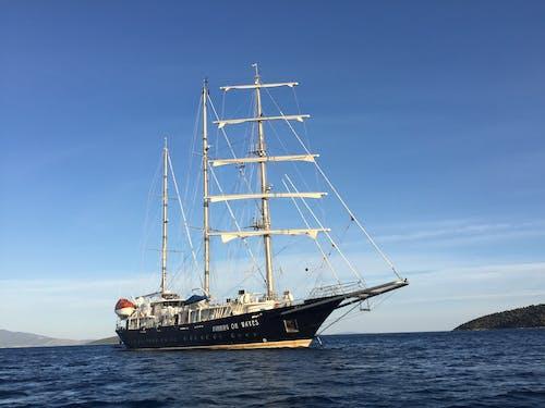 Free stock photo of aegean, greece, navigate, sailing ship